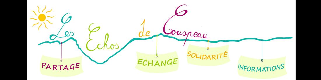 Les échos de Couspeau Logo